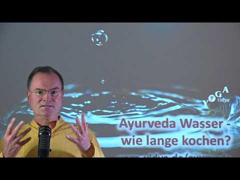 Ayurveda Wasser - wie lange kochen? - Frage an Sukadev