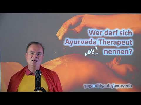 Wer darf sich Ayurveda Therapeut nennen? - Frage an Sukadev