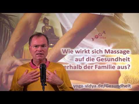Wie wirkt sich Massage auf die Gesundheit innerhalb der Familie aus? - Frage an Sukadev