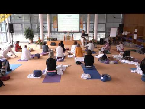 Ayurveda Kongress 2016: Yin Yoga bei Vatastörungen mit Shanti Wade