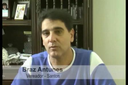 Depoimento com o Sr. Braz Antunes - Vereador