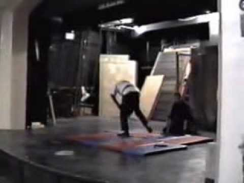 GM Aaron  Banks live  martial arts Christmas show 1993 GM Irving Soto