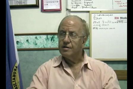 Depoimento com o Sr. Antônio dos Santos Soares Filho - Diretor