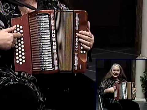 button accordion lesson - deep in heart of texas