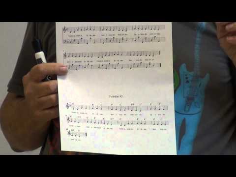 How to read sheet music - lesson 5 - part 1
