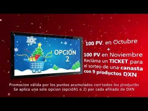 navidad promocion DXN - ZARATE