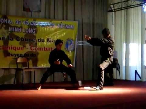 Haroun Cherkaoui casse glace.arts martiaux vietnamiens