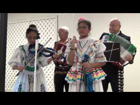 De Colores being sung at a Festival for Our Lady of Guadalupe in Texas on Dec 15, 2013
