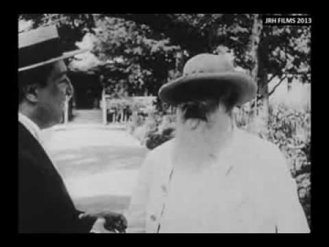 Claude Monet - Filmed Painting Outdoors (1915)