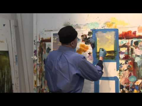Studio Workshop with David Dunlop - Painting Skies DVD