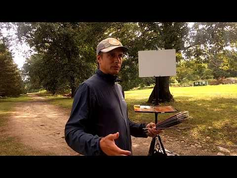Plein Air Landscape Painting Demo