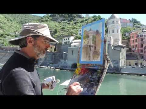 """""""Outside The Lines"""" Plein Air Painting Documentary, Plein Air Force"""