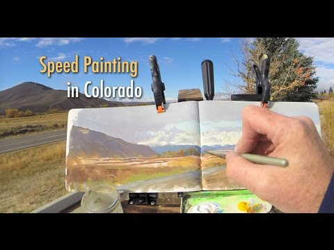 Speed Painting in Colorado