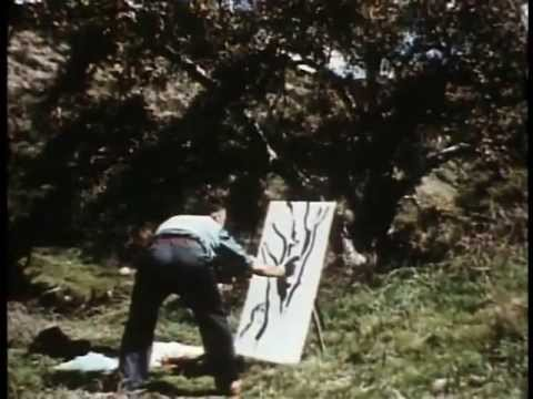 1958: Old Disney artists show their various painting techniques through a nature study