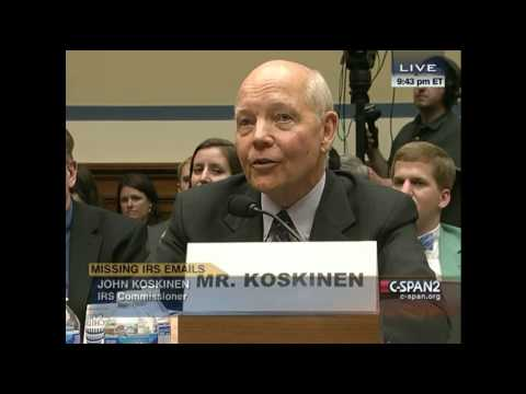 Trey Gowdy Slams IRS Commissioner John Koskinen