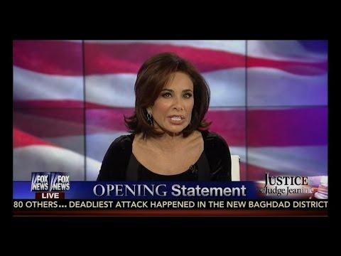 "Judge Jeanine NUKES Obama ➠ ""Comfortable"" With Islamic Extremism!"