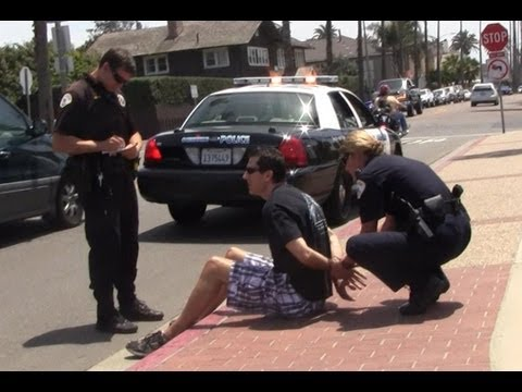 Mark Dice Handcuffed and Detained While Making YouTube Video