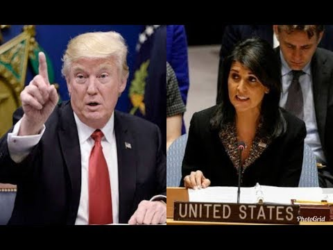 Trump just withdrew the United States aids from UN over Jerusal - its about time