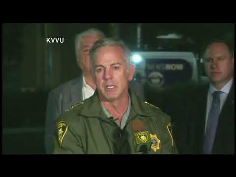 Las Vegas Concert Shooting Deadliest Mass Shooting in US History, officials hold morning newscast