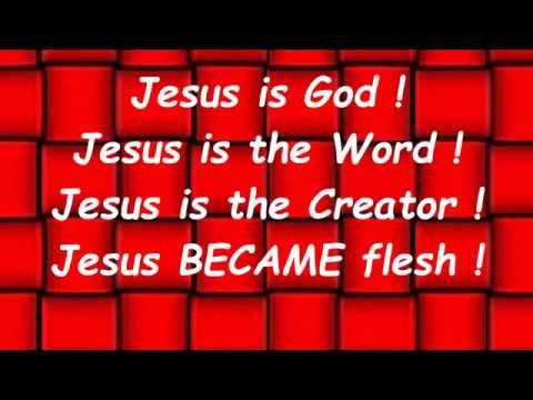 JESUSisGOD.tv video showing that JESUS IS GOD!