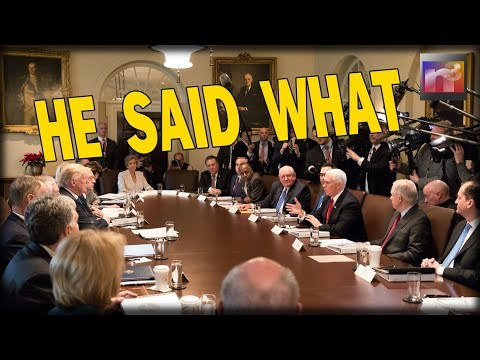 Liberals Suffer EPIC MELTDOWN After Pence utters 9 WORDS at Cabinet Meeting