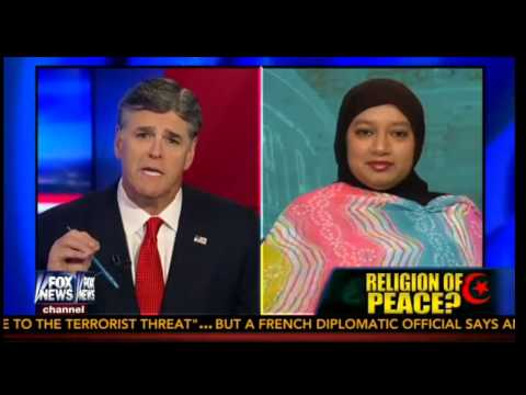 Hannity Grills Heritage Panel Questioner Saba Ahmed: Why Won't You Condemn Radical Islam?