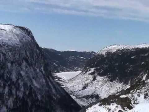 Snowmobiling in Newfoundland...Sledworthy Contest