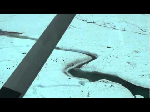 Petermann Ice Island Flyover
