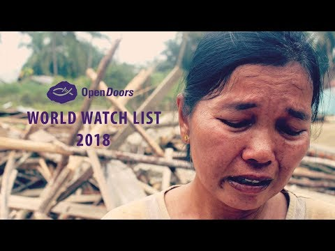Open Doors World Watch List 2018: The Top 5