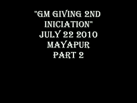 GM GIVING 2ND INICIATION- PART 2