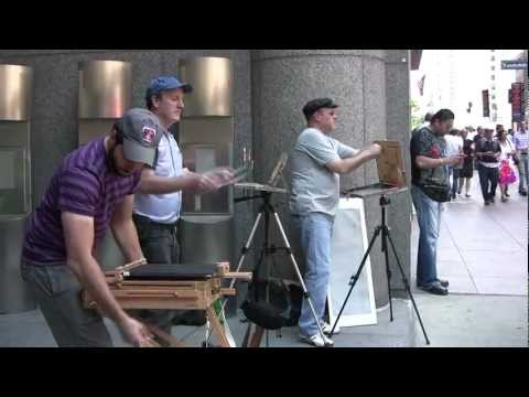 Plein Air Painting in New York City