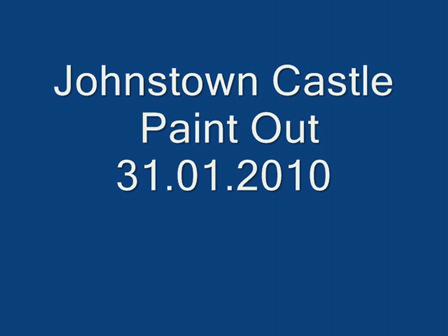 SEPA's Johnstown Castle Paint Out 31st Jan. 2010