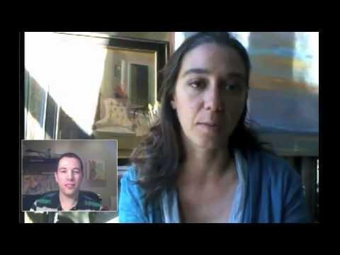 Lets Talk Art, Episode 3 - Moshe Mikanovsky interviewing visual artist Kelly Medford