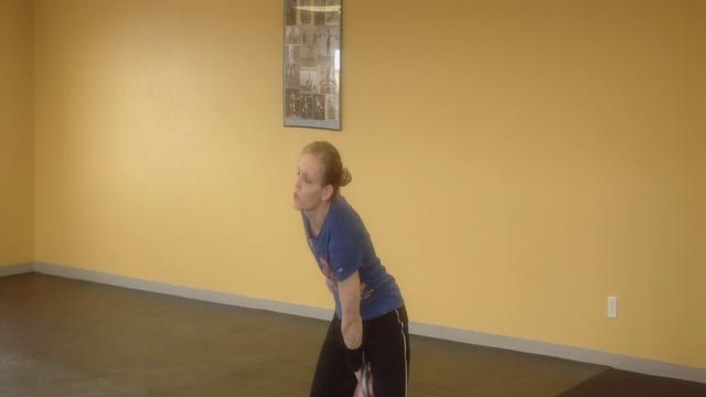 Idaho Kettlebell Fitness - Kettlebell Sport Class. Carrie: Long Cycle Jerk.