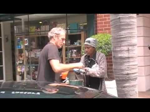 Michael Bolton loves the homeless