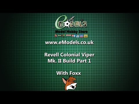 Revell Colonial Viper Mk. II Build Part 1 - Getting Started
