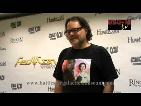 "BSG-M Exclusive! Aaron Douglas interview at fedcon - ""The Returned"", writing, ""Infrared"" and more!"