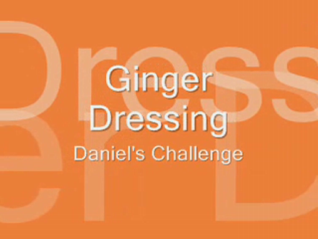 Ginger Dressing