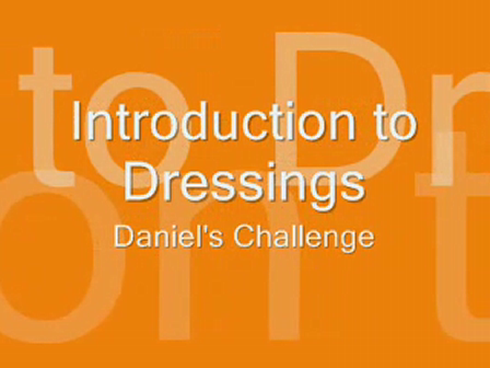 Introduction to Dressings