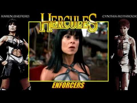 Hercules 'Enforcers' (Cynthia Rothrock, Karen Sheperd) - Music Video