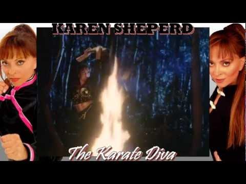 'The Karate Diva' - A Karen Sheperd Tribute (best viewed in 720p)