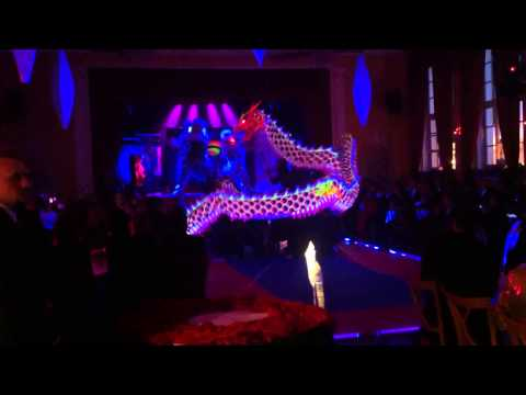 Drachentanz der Lan Lung Wushu Xue Yuan