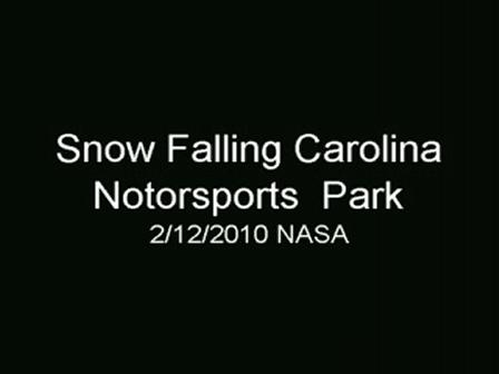 NASA CMP SNOW AT FINISH