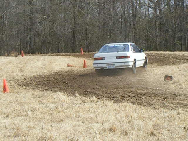 Chris at ALSCCA RallyCross