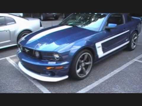 Unstabled Mates Mustang Club Cruising to Helen Ga