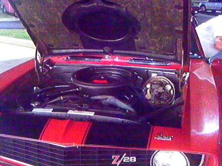 All Original 69 z28 and owner at Sonics in Loganville Ga. Sept. 30, 2011