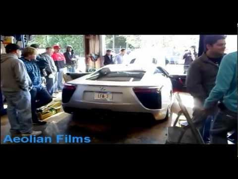 #3 Lexus LFA Dyno - Forged Performance