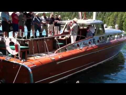 Thunderbird Boat starting up