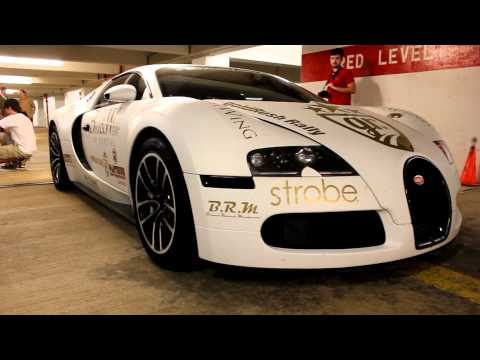 3 Bugatti Veyrons in Atlanta!