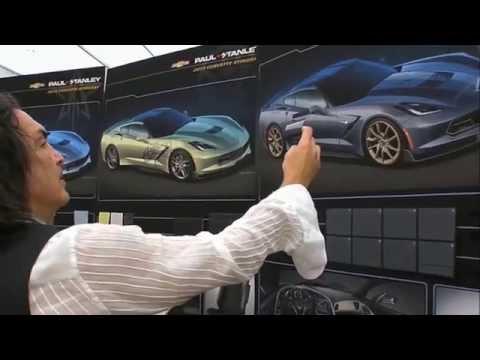 SEMA SHOW 2014 Paul Stanley Chevrolet Corvette Stingray 2015 6.2 LT1 460 cv